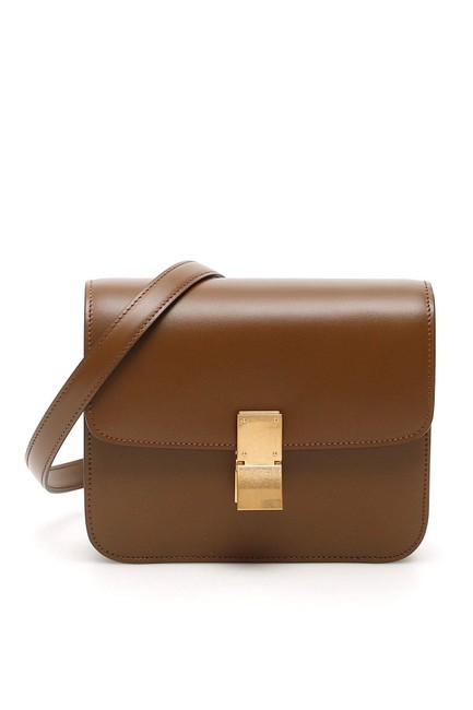 Item - Cr Teen Classic Brown Leather Shoulder Bag