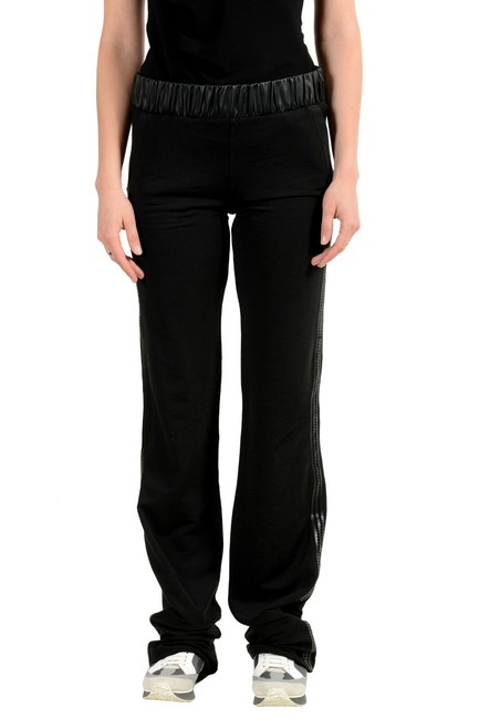 Item - Black Women's Elastic Waist Track Pants Size 8 (M, 29, 30)