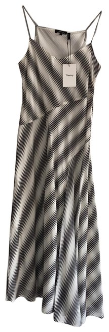 Item - Black and White 123 Mid-length Casual Maxi Dress Size 2 (XS)