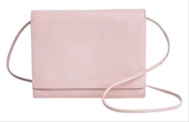 Item - Compact Pink Leather Cross Body Bag