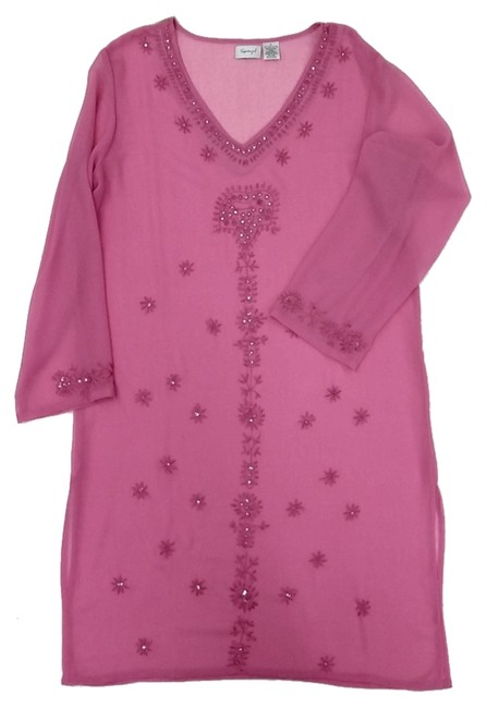 Preload https://item5.tradesy.com/images/spiegel-pink-fuschia-cover-up-tunic-size-6-s-2761129-0-0.jpg?width=400&height=650