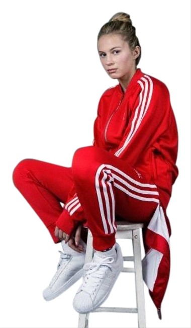 Item - Red Track Suit Activewear Size 4 (S)