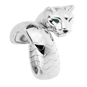 Cartier Cartier Panthere White Gold Ladies Ring 1737