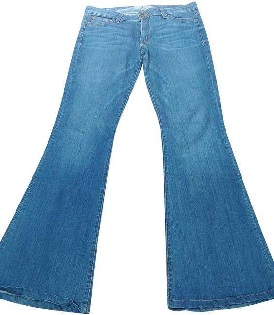 Item - Blue Medium Wash Denim Trouser/Wide Leg Jeans Size 31 (6, M)