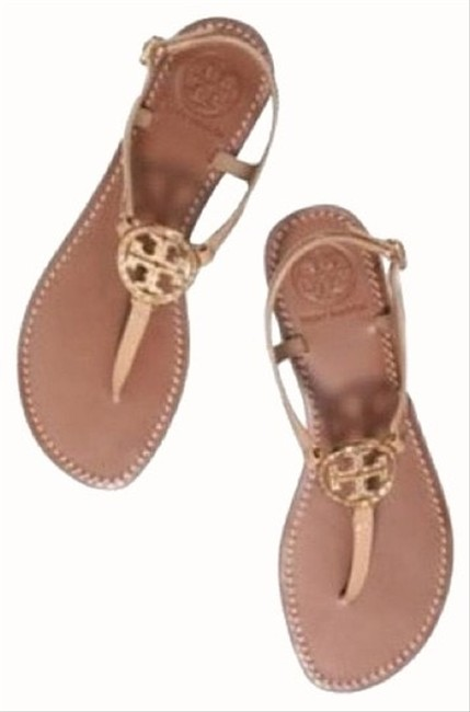 Tory Burch Iced Coffee Violet Thong Sandals Size US 6 Regular (M, B) Tory Burch Iced Coffee Violet Thong Sandals Size US 6 Regular (M, B) Image 1