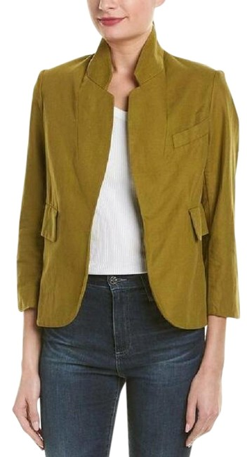 Preload https://img-static.tradesy.com/item/27612492/zadig-and-voltaire-green-olive-military-verys-officer-36-it-blazer-size-2-xs-0-1-650-650.jpg