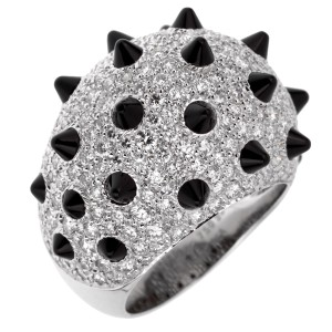 Cartier Cartier Panthere Spike Diamond Onyx Ring 513