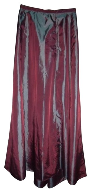 Express Fairy Tale Prism Holographic Gypsy Maxi Skirt Purple Prism