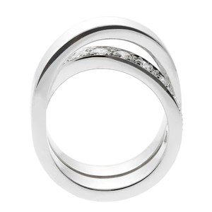 Cartier Cartier Nouvelle Vague Diamond White Gold Crossover Ring 320