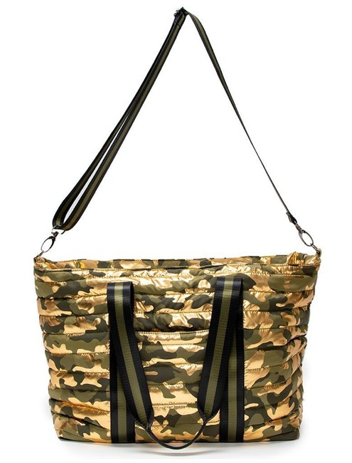 Wingman Camo Gold & Green Camouflage Polyester Weekend/Travel Bag Wingman Camo Gold & Green Camouflage Polyester Weekend/Travel Bag Image 1
