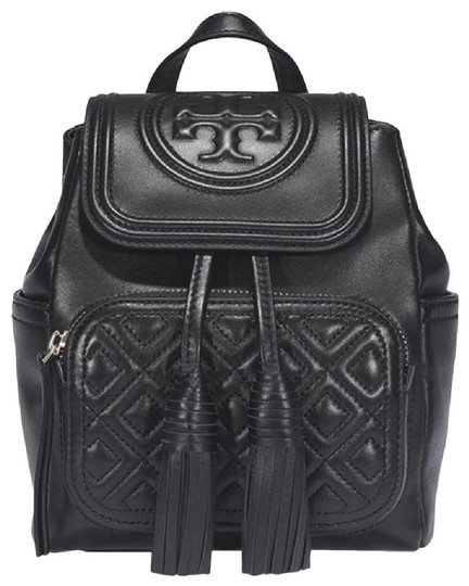 Preload https://img-static.tradesy.com/item/27612760/tory-burch-fleming-mini-black-leather-backpack-0-0-540-540.jpg