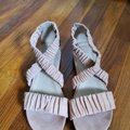 Eileen Fisher Pink Dylan Sandals Size US 7 Regular (M, B) Eileen Fisher Pink Dylan Sandals Size US 7 Regular (M, B) Image 3