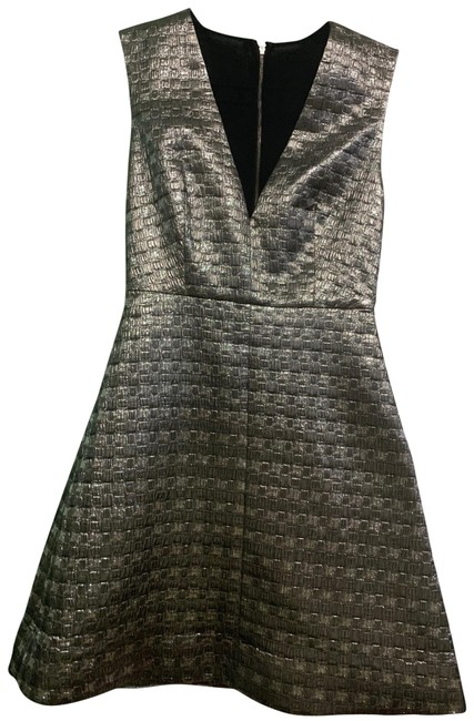 Item - Silver C409654217 Short Night Out Dress Size 2 (XS)