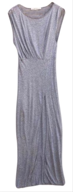 Item - Grey Jersey Nile Long Casual Maxi Dress Size 2 (XS)