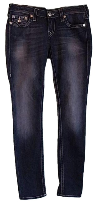 Item - Blue Silver Medium Wash Lost Lagoon Skinny Jeans Size 29 (6, M)