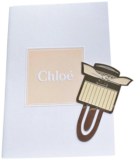 Item - Silver and Cream Hard To Find New Bookmark Notebook Set