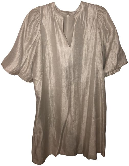 Item - Silver 436245 Short Night Out Dress Size 14 (L)