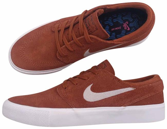 Item - Rust Women's Sb Zoom Janoski Rm Vulcanized Construction Fuses The Outsole To The Upper For A Flexible Feel. Sneakers Size US 8.5 Narrow (Aa, N)