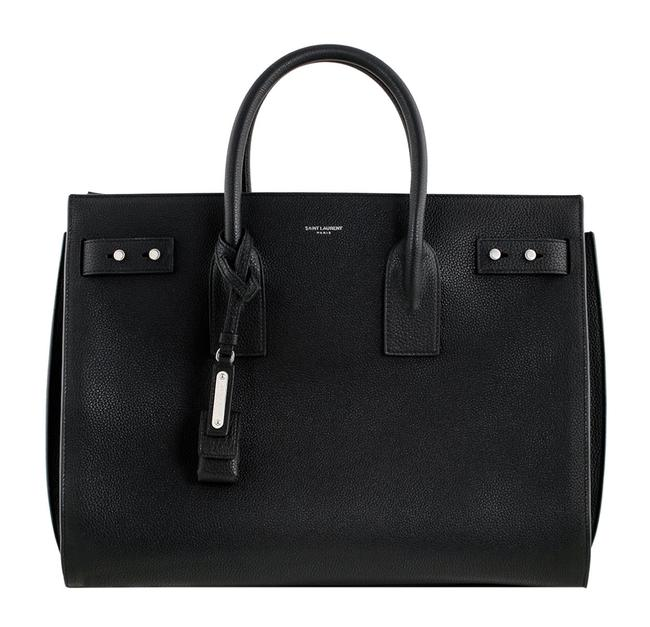 Item - Sac de Jour Bag Df Medium Black Leather Tote