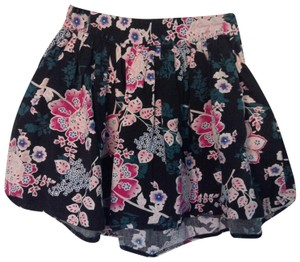 Wet Seal Skirt Black, Pink with accents