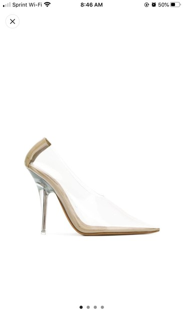 Item - Clear Season 7 Pointed Pumps Size EU 40 (Approx. US 10) Narrow (Aa, N)