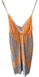 Gypsy05 short dress Orange Grey on Tradesy