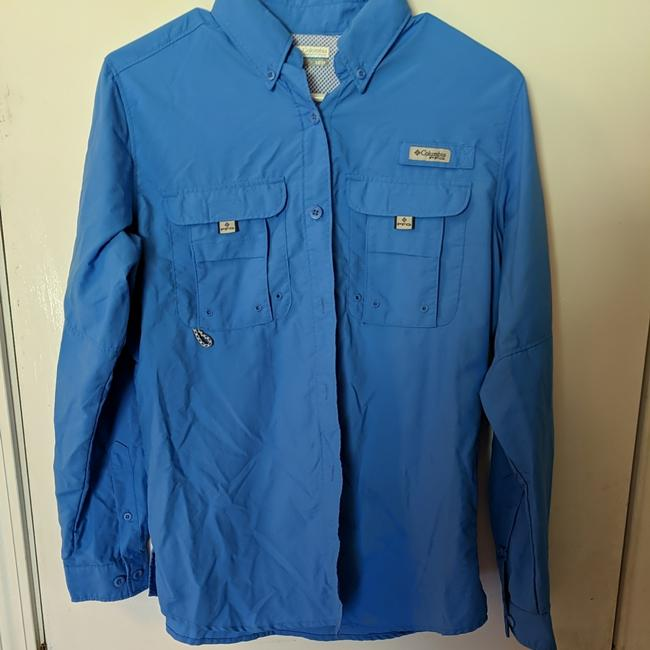 Item - Blue Pfg Activewear Outerwear Size 2 (XS)