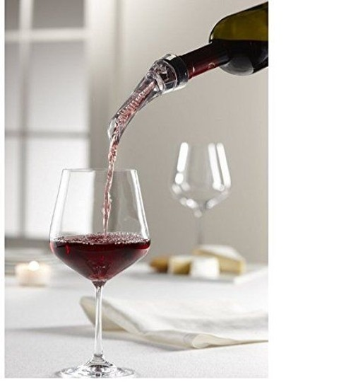 Clear 12 Sets Box Quick Aerating Pourer Spout Decanter Red Wine Mini Travel Aerator Essential Set Barware
