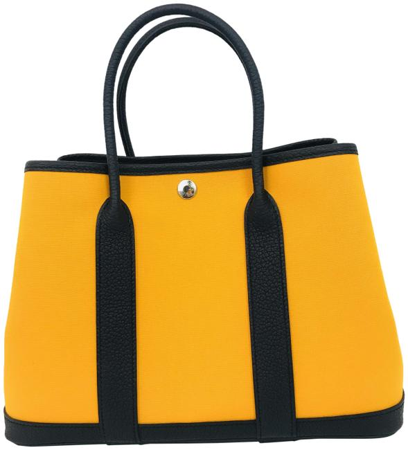 Item - Garden Party Tpm Yellow Canvas Tote