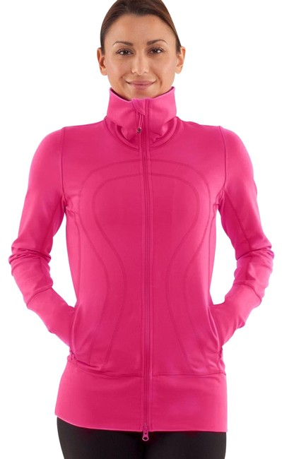 Item - Hot Pink Stride Jacket In From Activewear Top Size 4 (S)