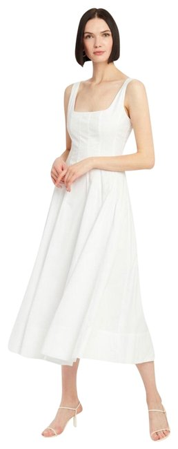 Item - White Cotton Mid-length Casual Maxi Dress Size 0 (XS)