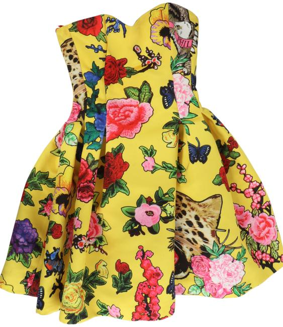 Item - Yellow We're In This Together Short Formal Dress Size 0 (XS)