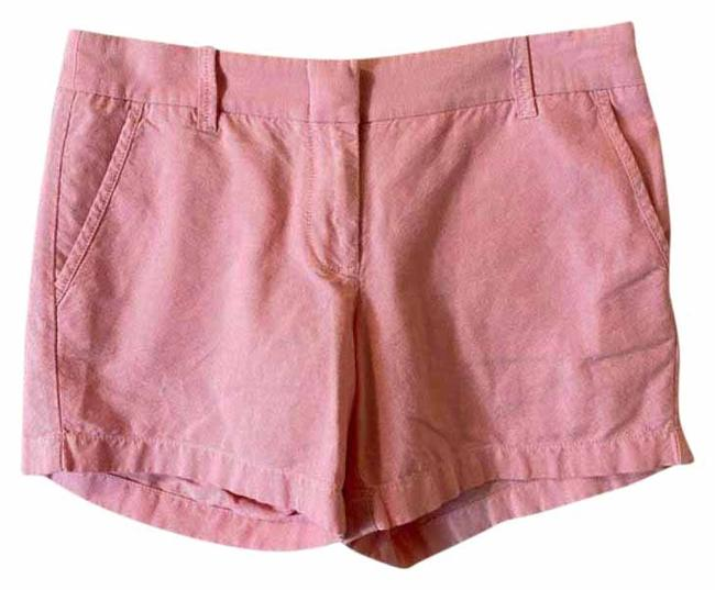 Item - Pink Oxford Cotton Shorts Size 4 (S, 27)