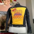 Levi's Black Los Angeles Lakers Repeat Champs Jacket Size 4 (S) Levi's Black Los Angeles Lakers Repeat Champs Jacket Size 4 (S) Image 7
