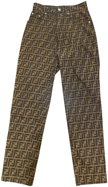 Item - Black and Brown Straight Leg Jeans Size 27 (4, S)