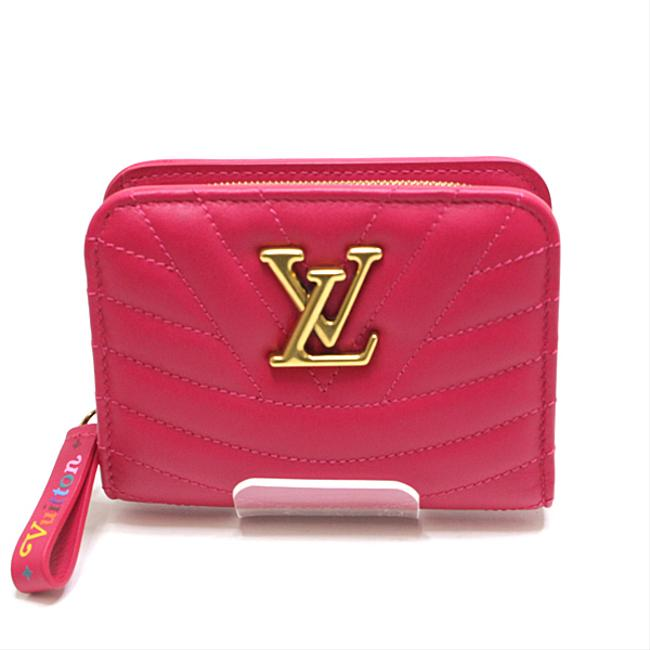 Louis Vuitton Freesia New Wave Zipped Compact M63835 Wallet Louis Vuitton Freesia New Wave Zipped Compact M63835 Wallet Image 1
