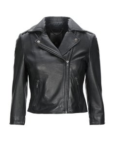 Muubaa Designer Sheepskin Leather Jacket