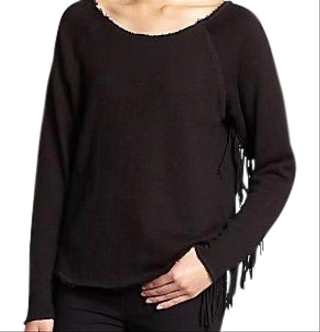 Item - Fringe Maru Black Sweater