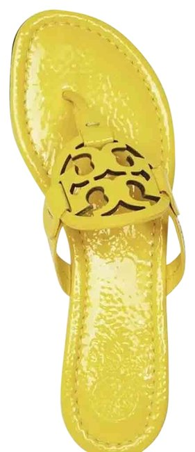Item - Yellow / Limone W Miller Thong Leather Dust Bag Sandals Size US 8 Regular (M, B)