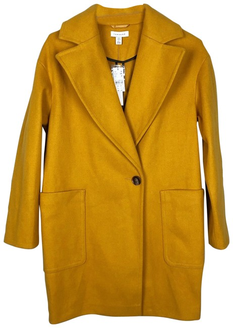 Item - Yellow Gold Carly Coat Size 2 (XS)