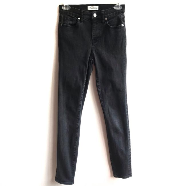 Item - Black Gray Distressed High Riser Skinny Jeans Size 0 (XS, 25)