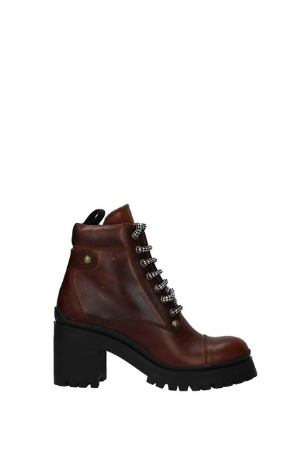 Item - Brown Ankle Women Boots/Booties Size EU 37.5 (Approx. US 7.5) Regular (M, B)
