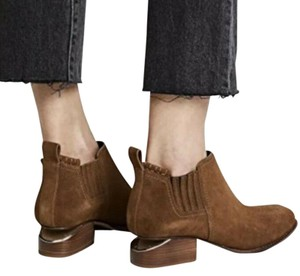 Alexander Wang Suede Ankle Blogger Tan Brown Boots