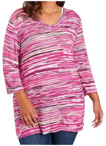 Onque Casuals Helpingpaybills Striped Studded Tunic