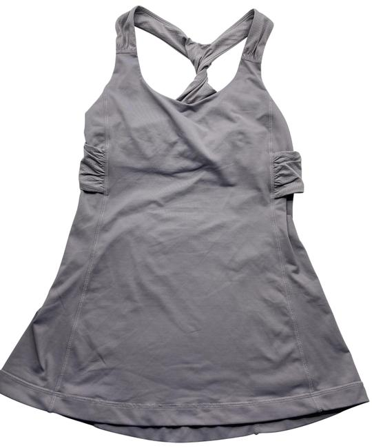 Lululemon Gray Excellent Condition Tank Top/Cami Size 6 (S) Lululemon Gray Excellent Condition Tank Top/Cami Size 6 (S) Image 1
