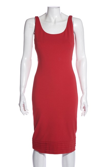Item - Coral Sleeveless Short Cocktail Dress Size 4 (S)