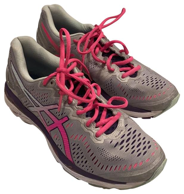 Item - Silver and Pink Sneakers Size US 8.5 Regular (M, B)