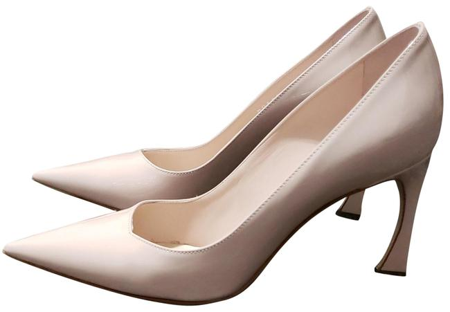Item - Light Pink Patent Calfskin Pumps Size EU 36.5 (Approx. US 6.5) Regular (M, B)