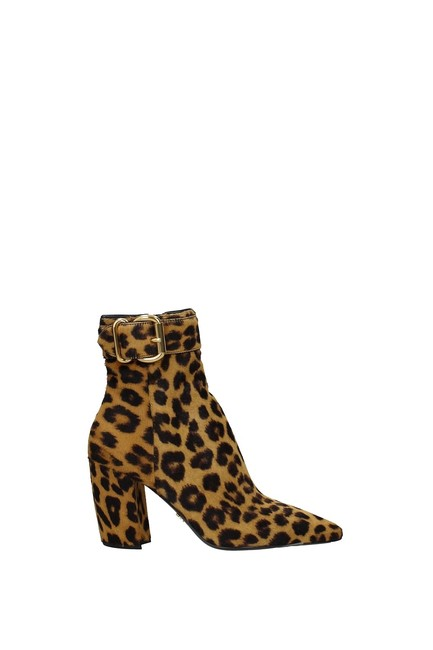 Item - Multicolor Ankle Leopard Print Boots/Booties Size EU 39 (Approx. US 9) Regular (M, B)