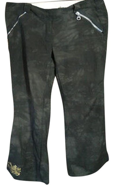 Item - Olive Green Linen Pants Size 4 (S, 27)
